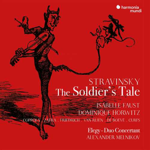 Melnikov: Stravinsky - The Soldier's Tale, Élégie, Duo Concertant (24/96 FLAC)