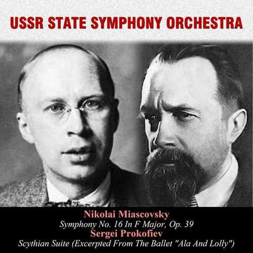 Ivanov: Miaskovsky - Symphony no.16, Prokofiev - Scythian Suite (FLAC)