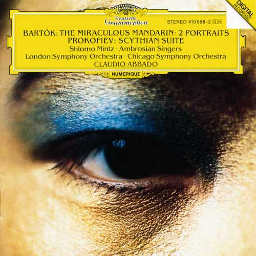 Mintz, Abbado: Bartók - The Miraculous Mandarin, Two Portraits, Prokofiev - Scythian Suite (FLAC)