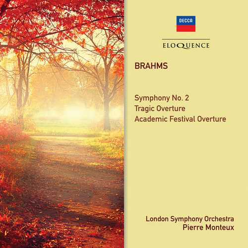 Monteux: Brahms - Symphony no.2, Tragic Overture, Academic Festival Overture (FLAC)