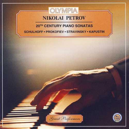 Nikolai Petrov - 20th Century Piano Sonatas (FLAC)