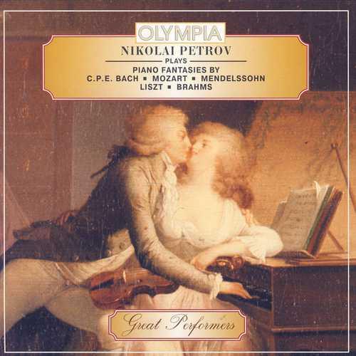 Nikolai Petrov Plays Piano Fantasies (FLAC)