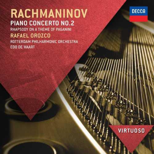 Orozco, Waart: Rachmaninov - Piano Concerto no.2, Rhapsody on a theme of Paganini (FLAC)