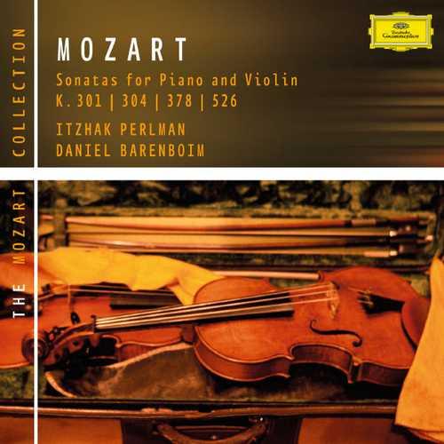Perlman, Barenboim: Mozart - Violin Sonatas K.301, 304, 378 & 526 (FLAC)