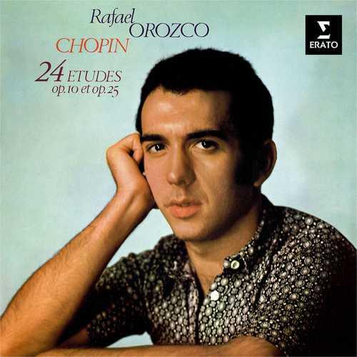 Rafael Orozco: Chopin - 24 Études op.10 & 25 (24/192 FLAC)