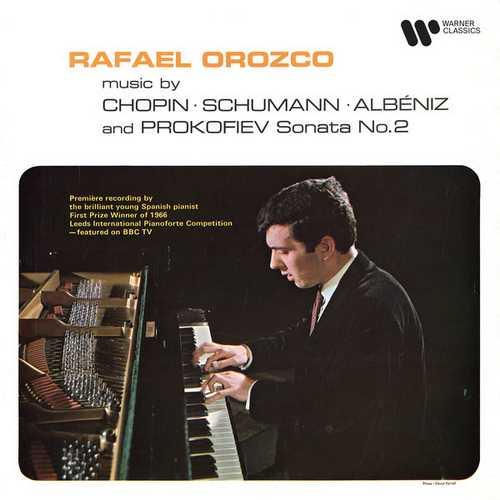 Rafael Orozco: Music by Chopin, Schumann, Albéniz and Prokofiev - Piano Sonata no.2 (24/192 FLAC)