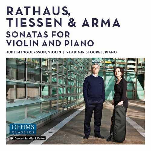Ingolfsson, Stoupel: Rathaus, Tiessen & Arma - Sonatas for Violin and Piano (24/96 FLAC)