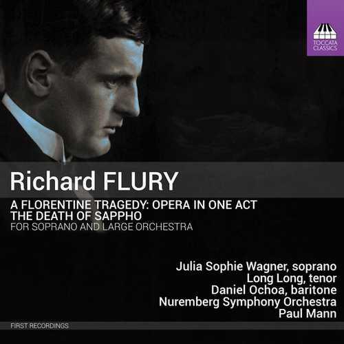 Richard Flury - A Florentine Tragedy, The Death of Sappho (24/96 FLAC)
