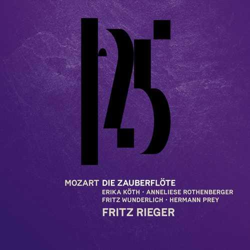 Rieger: Mozart - Die Zauberflöte (24/96 FLAC)