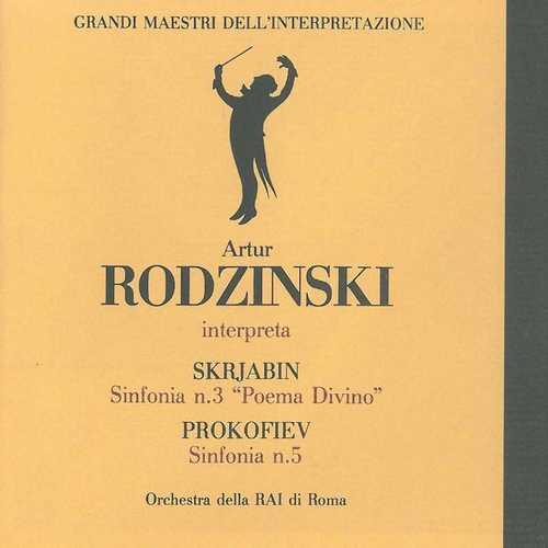 Rodzinski: Scriabin - Symphony no.3, Prokofiev - symphony no.5 (FLAC)