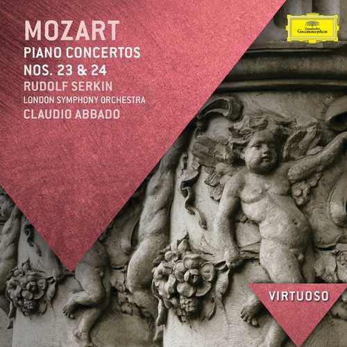 Serkin, Abbado: Mozart - Piano Concertos no.23 & 24 (FLAC)