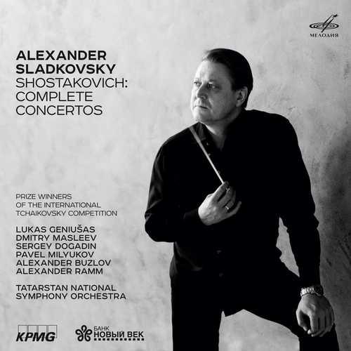 Sladkovsky: Shostakovich - Complete Concertos (FLAC)