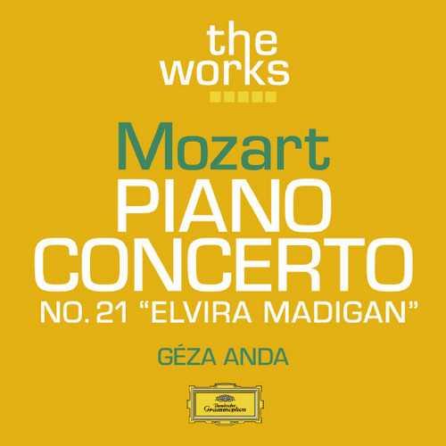 "Anda: Mozart - Piano Concerto no.21 ""Elvira Madigan"" (FLAC)"