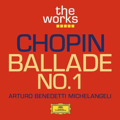 Benedetti Michelangeli: Chopin - Ballade no.1 (FLAC)