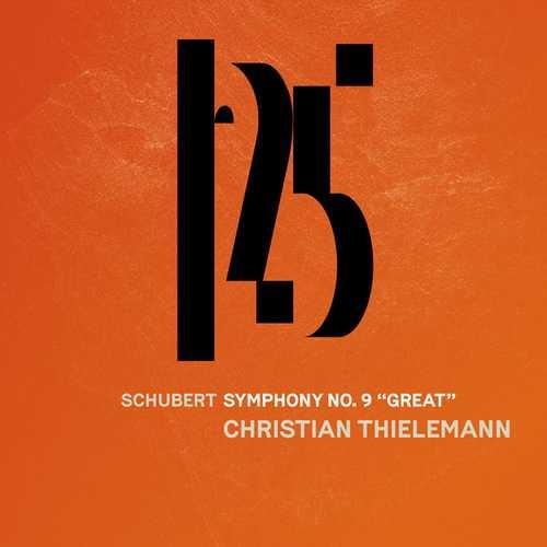 """Thielemann: Schubert - Symphony no.9 """"Great"""" (24/48 FLAC)"""