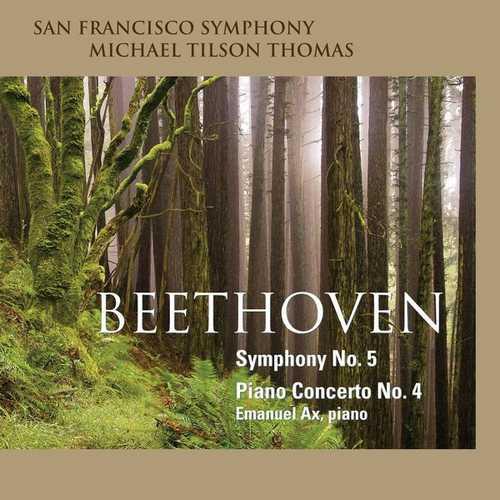 Tilson Thomas: Beethoven - Symphony no.5, Piano Concerto no.4 (24/96 FLAC)
