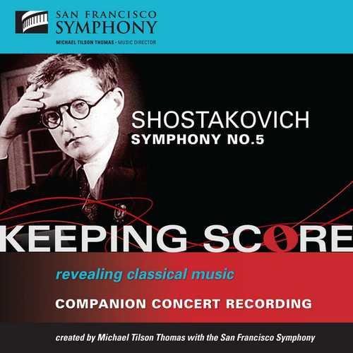 Tilson Thomas: Shostakovich - Symphony no.5 (FLAC)