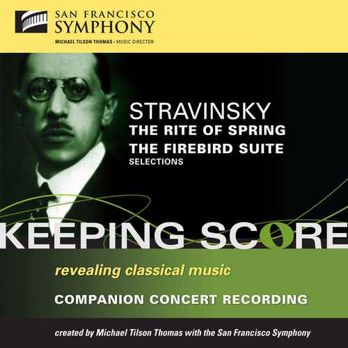 Tilson Thomas: Stravinsky - The Rite of Spring, The Firebird Suite (FLAC)