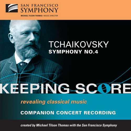 Tilson Thomas: Tchaikovsky - Symphony no.4 (FLAC)