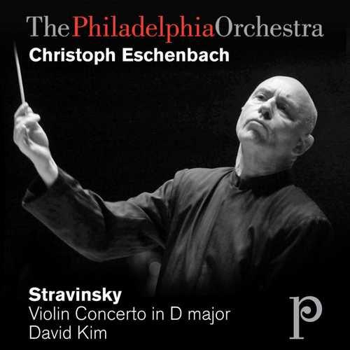 Eschenbach: Stravinsky - Violin Concerto in D Major (FLAC)
