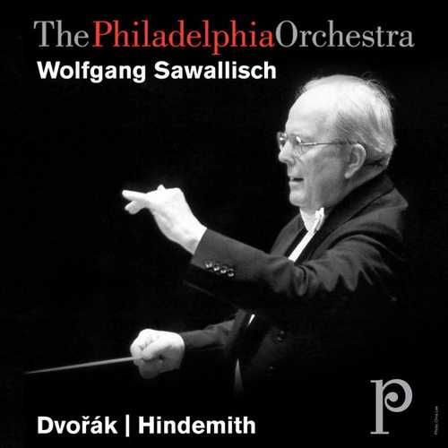 Sawallisch: Dvořák - Slavonic Dances, Hindemith - Concert Music for Strings and Brass (FLAC)