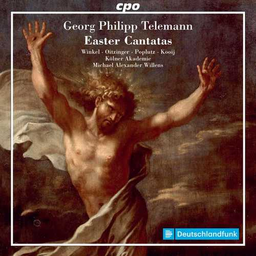 Willens: Telemann - Easter Cantatas (FLAC)
