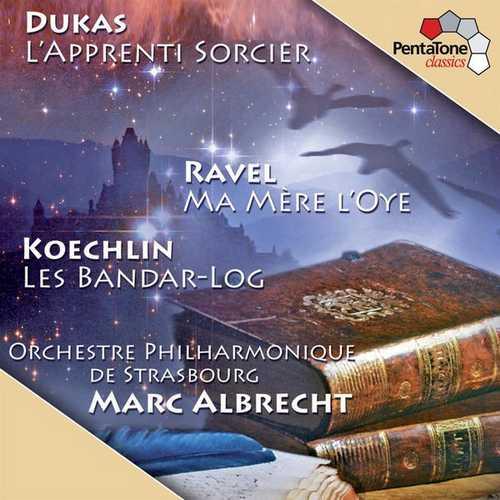 Albrecht: Dukas - L'Apprenti Sorcier, Ravel - Ma mère l'Oye, Koechlin - Bandar-Log (FLAC)