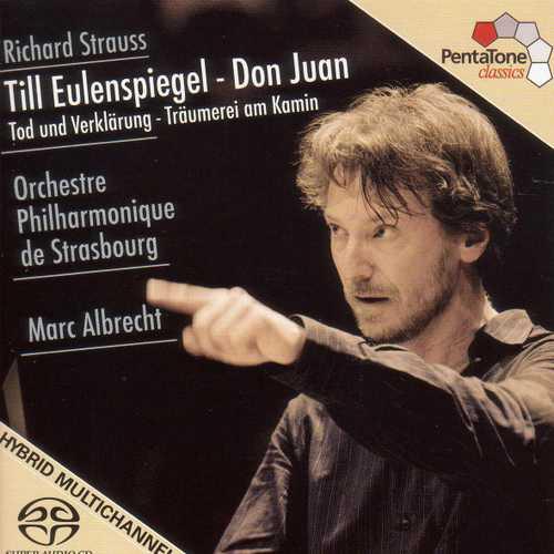 Albrecht: Strauss - Till Eulenspiegel, Don Juan, Tod und Verklarung, Träumerei am Kamin (FLAC)