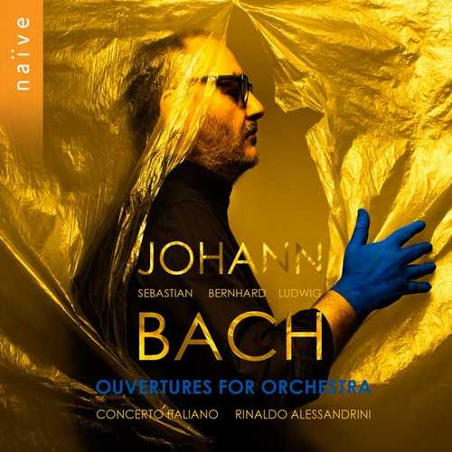 Alessandrini: Johann Sebastian/Bernhard/Ludwig Bach - Ouvertures For Orchestra (24/88 FLAC)