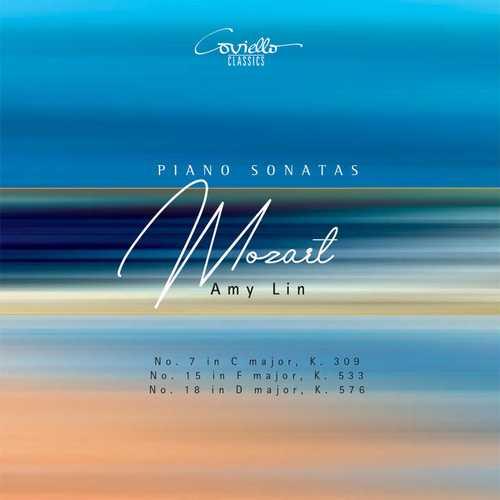 Amy Lin: Mozart - Piano Sonatas no.7, 15 & 18 (24/96 FLAC)