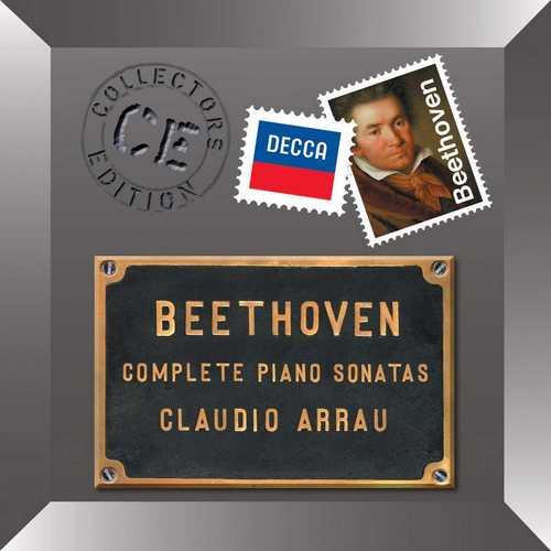 Arrau: Beethoven - Complete Piano Sonatas (FLAC)