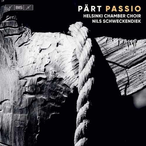 Schweckendiek: Arvo Pärt - Passio (24/96 FLAC)