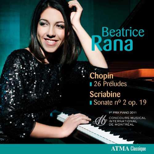 Beatrice Rana: Chopin - 26 Preludes; Scriabine - Sonate no.2 op.19 (24/96 FLAC)