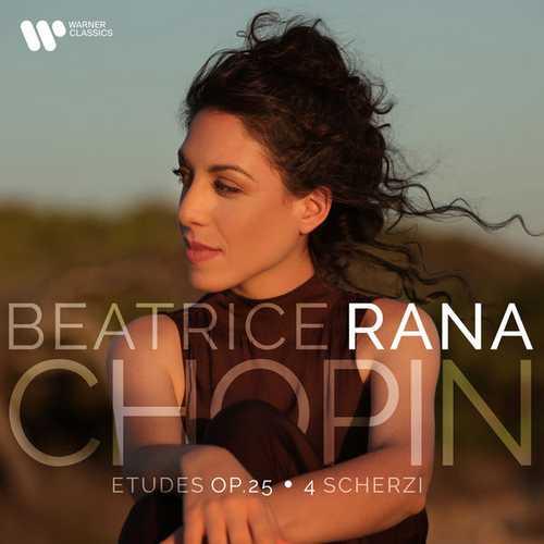 Betrice Rana: Chopin - Études op.25 & 4 Scherzi (24/192 FLAC)