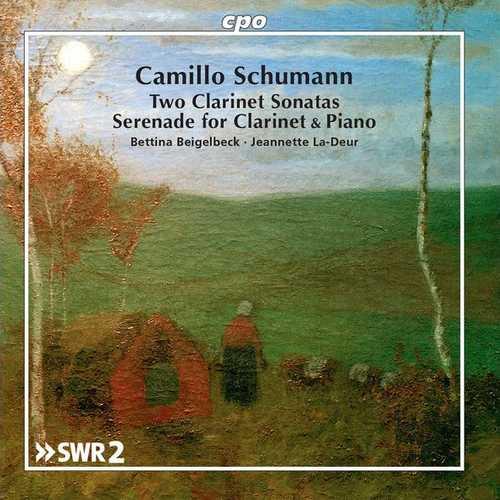 Beigelbeck, La-Deur: Camillo Schumann - Two Clarinet Sonatas, Serenade for Clarinet & Piano (FLAC)