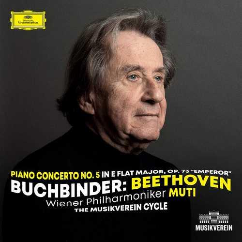 """Buchbinder: Beethoven - Piano Concerto no.5 in E-Flat Major op.73 """"Emperor"""" (24/48 FLAC)"""