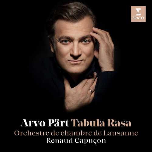 Renaud Capuçon: Arvo Pärt - Tabula Rasa (24/96 FLAC)