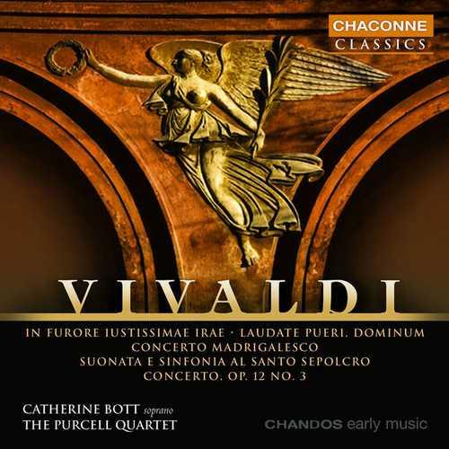 Bott, Purcell Quartet: Vivaldi - In Furore Iustissimae Irae, Laudate Pueri & Various Orchestral Works (FLAC)