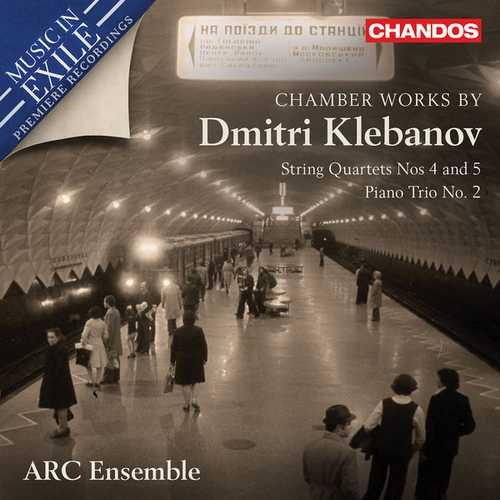 Chamber Works by Dmitri Klebanov (24/96 FLAC)