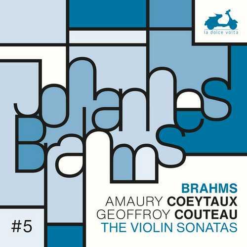 Coeytaux, Couteau: Brahms - The Violin Sonatas (24/88 FLAC)