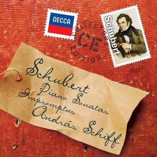 Schiff: Schubert - Piano Sonatas, Impromptus (FLAC)