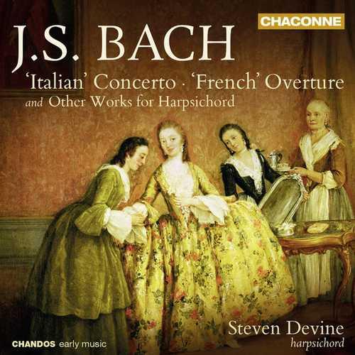 Devine: Bach - 'Italian' Concerto & 'French' Overture (24/96 FLAC)