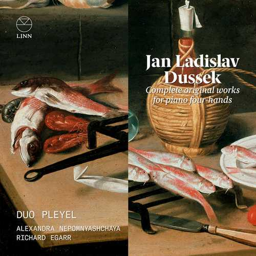 Duo Pleyel: Dussek - Complete Original Works for Piano Four-Hands (24/96 FLAC)