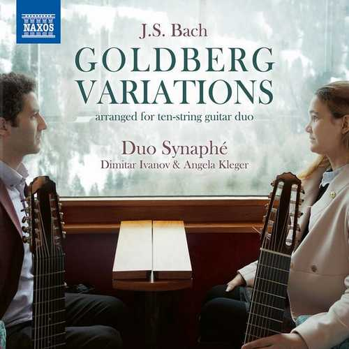 Duo Synaphé: Bach - Goldberg Variations Arranged for 10-String Guitar Duo (24/96 FLAC)