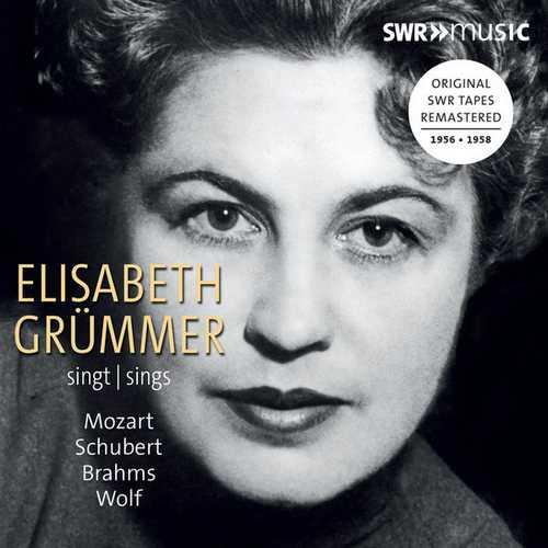 Elisabeth Grümmer Sings Mozart, Schubert, Brahms, Wolf (FLAC)