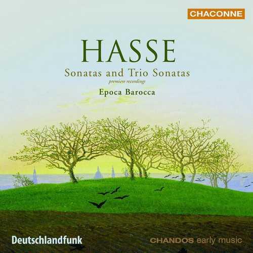 Epoca Barocca: Hasse - Sonatas and Trio Sonatas (FLAC)