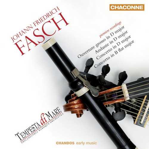 Fasch - Orchestral Works (24/96 FLAC)