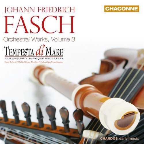 Fasch - Orchestral Works vol.3 (FLAC)