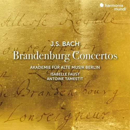 Faust, Tamestit: Bach - Brandenburg Concertos (24/192 FLAC)