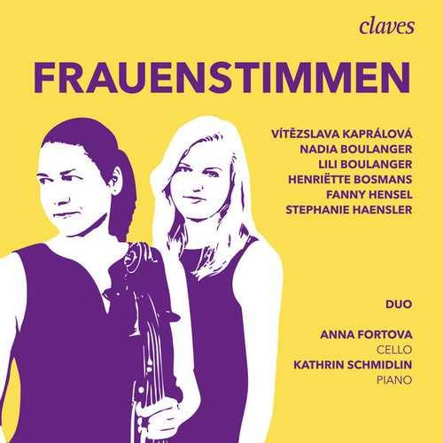 Anna Fortova, Kathrin Schmidlin - Frauenstimmen (24/88 FLAC)